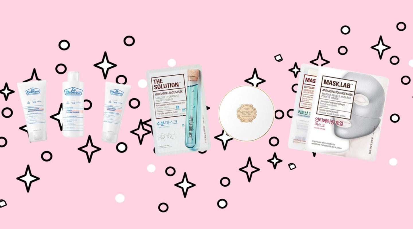 Beauty // x The Face Shop Canada / K-beauty Products For
